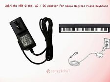 NEW AC Adapter For Casio CTK-4200 LK-160 LK-165 LK-240 LK-280 SA-46 Power Supply