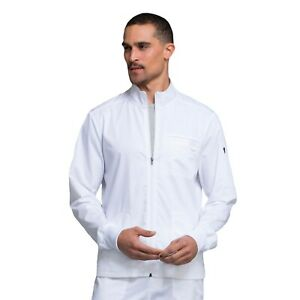 Cherokee Scrubs REVOLUTION Men's New Fashion Zip Front Jacket WW320