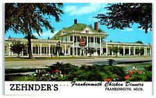 1960s Zehnder's Frankenmuth Chicken Dinners, Frankenmuth, MI Postcard