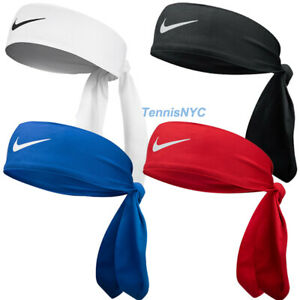 NIKE Dri-Fit Head Tie 3.0 Tennis Basketball Sports Sweatband Headband