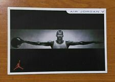 AIR JORDAN 5 V Post Card Retro Fire Red Grape Raging Bull Metallic NIKE RARE MJ