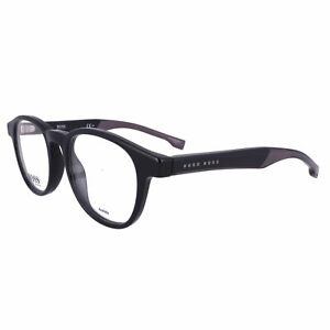 BOSS Eyeglasses 1053 0807 BLACK Men 49x20x145