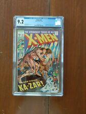 X-Men 62 CGC graded 9.2 w OW-W pages