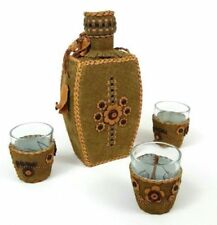 Shot Glass Serving Barware Gift Set Southwestern Home Decor Native American
