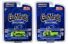 GREENLIGHT GAS MONKEY GARAGE VOLKSWAGEN PICK-UP SET OF 2 EXCLUSIVE 1/64 51148