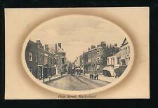 Berkshire Berks MAIDENHEAD High St Used 1924 PPC by Valentine
