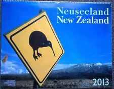 Kalender 2013 Neuseeland  12 POSTER   54x50 cm XXL  Ladenpreis 29,99 e !!