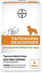 Bayer Tapeworm Dewormer Dog- 4 weeks or older
