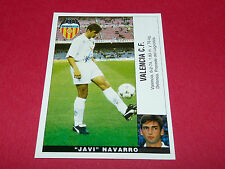 JAVI NAVARRO VALENCIA CF PANINI LIGA 95-96 ESPANA 1995-1996 FOOTBALL