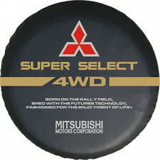 "27""-29"" Spare Tire Cover For MITSUBISHI 4WD SUPER SELECT MOTORS CORPORATION"