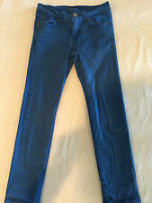 7 FOR ALL MANKIND BLUE STRAIGHT LEG PANTS YOUTH SIZE 7