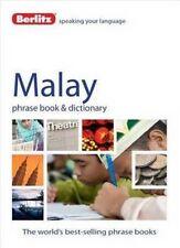 Good, Berlitz Language: Malay Phrase Book & Dictionary (Berlitz Phrasebooks), Pu