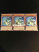Yugioh! 3x Formud Skipper BLAR-EN087 Ultra Rare 1st Edition Mint