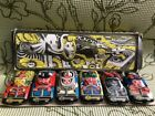 1970's RARE Vintage Set of 6 RUSSIAN Tin Toys Racing Cars Hand Painted With Box