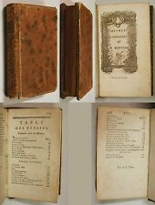 Pierre Joseph Bernard OEUVRES COMPLETES Edition Cazin circa 1780 Poesia Francese