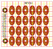 Shield Decals for Victrix Early Imperial Roman Auxiliary Infantry (AUX1)