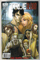 TRUE BLOOD #1, NM+, Vampire, Sookie, TV, Merlotte's, 2010, more TB in store