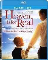 HEAVEN IS FOR REAL (2014) Greg Kinnear, Kelly Reilly NEW BLURAY + DVD ALL REGION