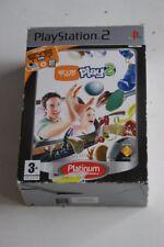 Eyetoy Play 2 + Eye Toy Camera - Platinum Playstation 2 - Used
