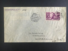 1950 Spanish Sahara  Cover to USA Certified