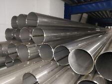 Edelstahlrohr 63,5mmx1000mm V2A 2,5 zoll Auspuffrohr Edelstahl Rohr Abgasrohr