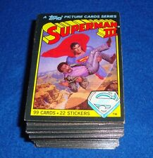1983 Topps Superman 3 Trading Card Set (99) Nm/Mt
