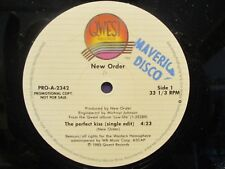 NEW ORDER 12' QWEST PROMO PERFECT KISS X2 TRACK'S PRO-A-2342 1985
