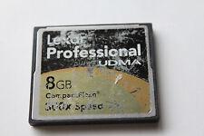 1pcs 8gb Lexar Scratchy label Compact flash memory card Cf Nikon Canon Cameras