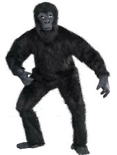 Gorilla Guy Mascot Deluxe Costume Jungle Animal Cosplay Fancy Dress Parade Suit