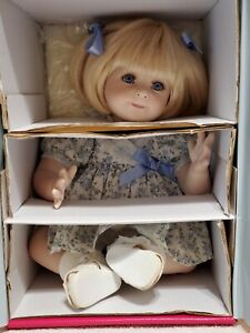 """Marie Osmond - First Things First, Patty Cake, 12"""" tall sitting, LE, NRFB w/COA"""