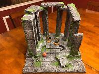 Dungeon Scared Ruin 28mm terrain 40k warhammer Dungeons & Dragons Pathfinder d&d
