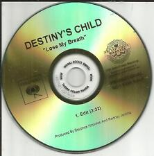 Beyonce DESTINY'S CHILD Lose My Breath w/ RARE EDIT TST PRESS PROMO DJ CD Single