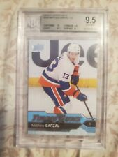 2016-17 UPPER DECK - MATTHEW BARZAL YOUNG GUNS BGS QUAD 9.5