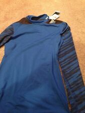 Adidas Tech Fit Fitted Long Sleeve Compression Shirt. Men's Medium. New.
