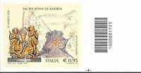 1725 CODICE A BARRE LATO DI SOTTO SACRA SPINA DI ANDRIA 0,95 ANNO 2016