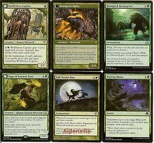 MTG Mono-Green Werewolf Deck - Avabruck Howlpack Alpha -  Magic the Gathering
