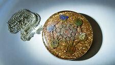 Runder 7 Chakra Orgon / Orgonit Anhänger Halskette