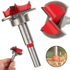35mm Forstner Auger Drill Bit Wooden Wood Cutter Hex Wrench Woodworking Hole Saw