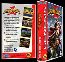 Shining Force 2 - Sega Genesis Reproduction Art Case/Box No Game.