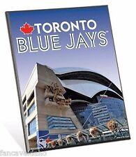 """MLB Toronto Blue Jays Stadium Premium 8"""" x 10"""" Solid Wood Easel Sign"""