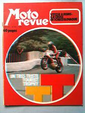 MOTO REVUE N°2081; Vitesse à Reims/ GP Cross en Tchecoslovaquie/ Ossa 500 cc