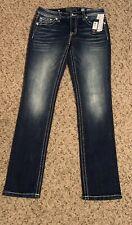 Miss Me Ladies Straight Jeans Size 30/33 M3294T