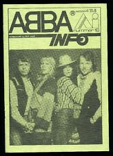 ABBA - ABBA Info - Dutch Fanclubmagazine No.16