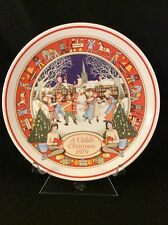 Wedgwood A Child's Christmas 1979 Collectors Plate (First in Series)