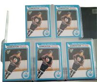 5x WAYNE GRETZKY 1979-1980 O-Pee-Chee OPC RC ROOKIE *REPRINT* nm/mt 5 card lot