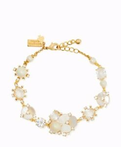 Kate Spade Gold Tone Disco Pansy Bracelet $128
