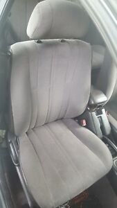 1995 TOYOTA CAMRY RIGHT PASSENGER FRONT BUCKET MANUAL SEAT BROWN 1992-1996