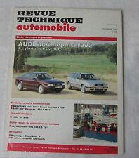 Revue technique automobile RTA 556 1993 Audi 80 depuis 1992 4 cylindres essence