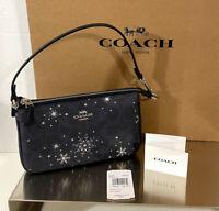 Coach Nolita 19 w/ Snowflake Print Wristlet C0091 NWT