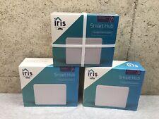 New lot of 3 iris Smart Hub 877638 Lowes Home & Security Hub